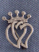 Ola Gorie Sterling Silver Luckenbooth Brooch - Traditional Scottish Jewellery (Sold)